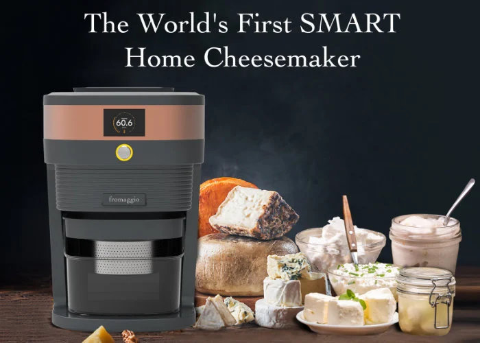 Fromaggio counter top home cheese maker machine - Geeky Gadgets