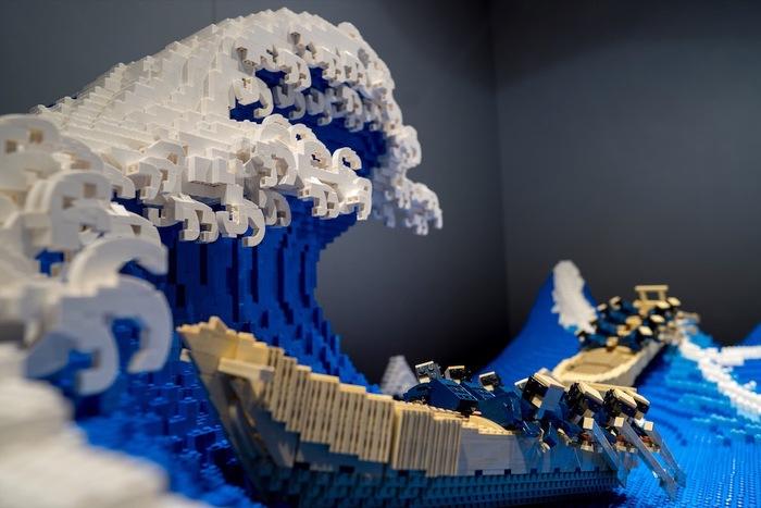 LEGO Great Wave of Kanagawa