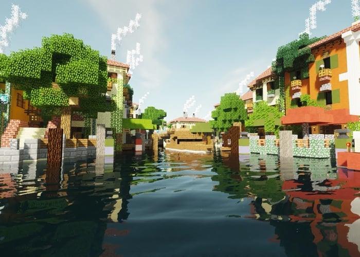 Minecraft ray tracing