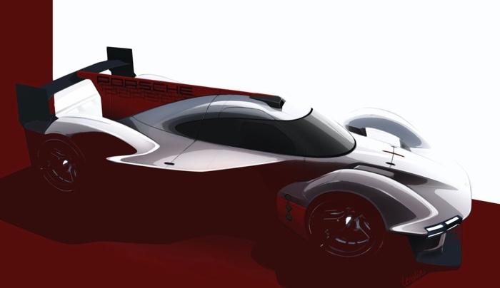 Porsche LMDh prototype
