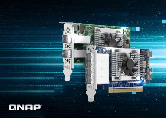 QNAP External SAS NAS expansion cards