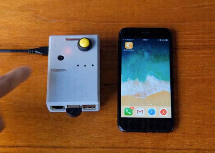 Raspberry Pi smart video doorbell