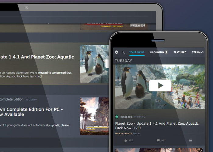 Steam News Hub launches