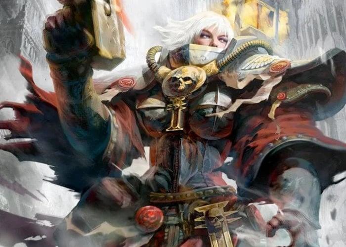 Warhammer 40000 Battle Sister VR