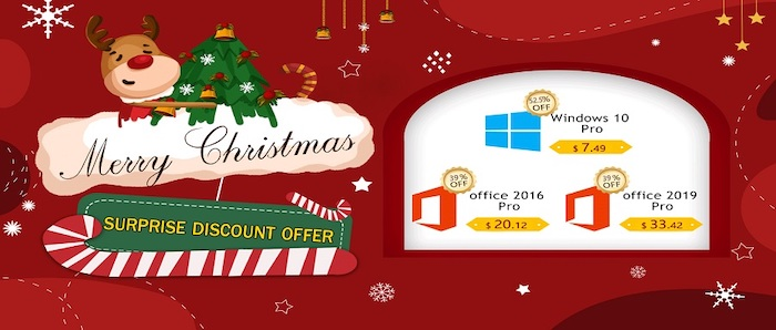 Best Software Christmas Sale: Windows 10 Pro costs only $7.49 - Geeky Gadgets