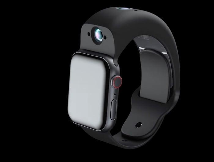 Wristcam Apple Watch camera band - Geeky Gadgets