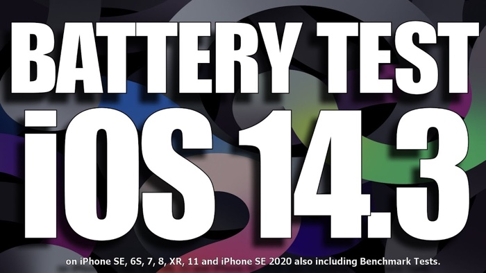 iOS 14.3 battery life test (Video) - Geeky Gadgets