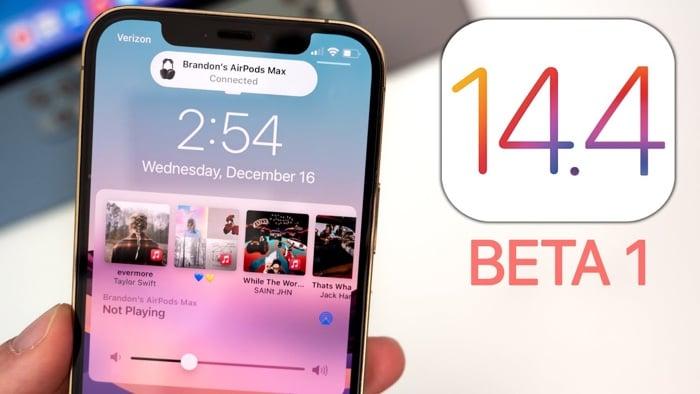 iOS 14.4 beta 1