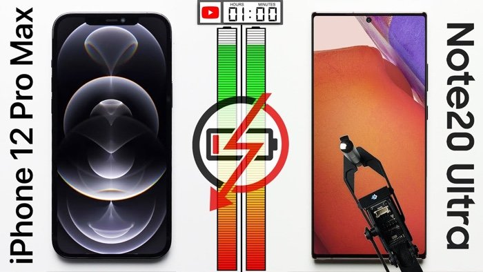 iPhone 12 Pro Max vs Galaxy Note20 Ultra