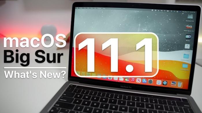 macOS Big Sur 11.1 beta 1