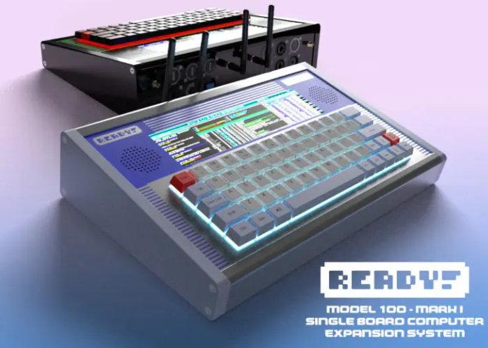 retro computer shell