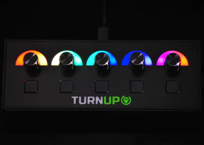 Turn Up volume mixer designed for gamers - Geeky Gadgets