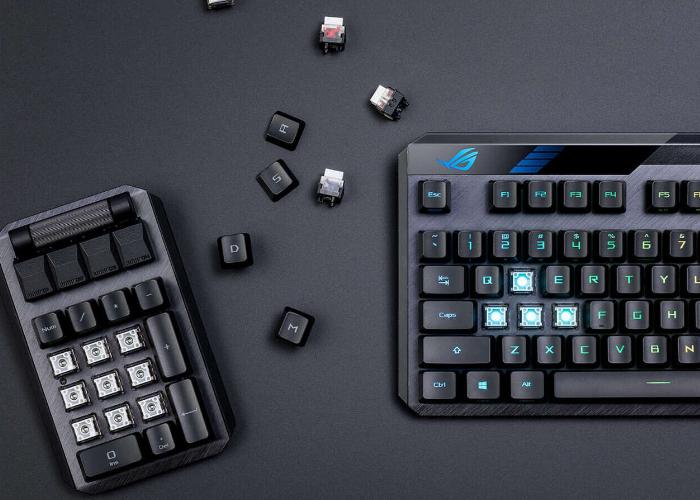 ASUS ROG Claymore II gaming keyboard