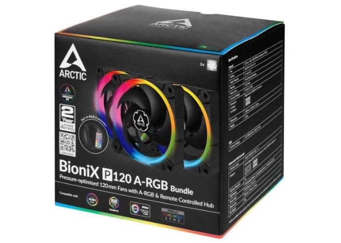 Arctic  BioniX P-series PC cooling fans