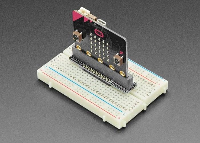 BBC micro:bit Kitronik Breadboard Breakout board