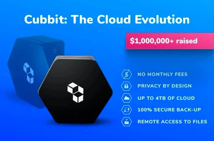 Cubbit home cloud storage solution with no monthly fees - Geeky Gadgets