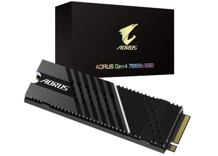 Gigabyte PCIe 4.0 Aorus Gen4 SSD