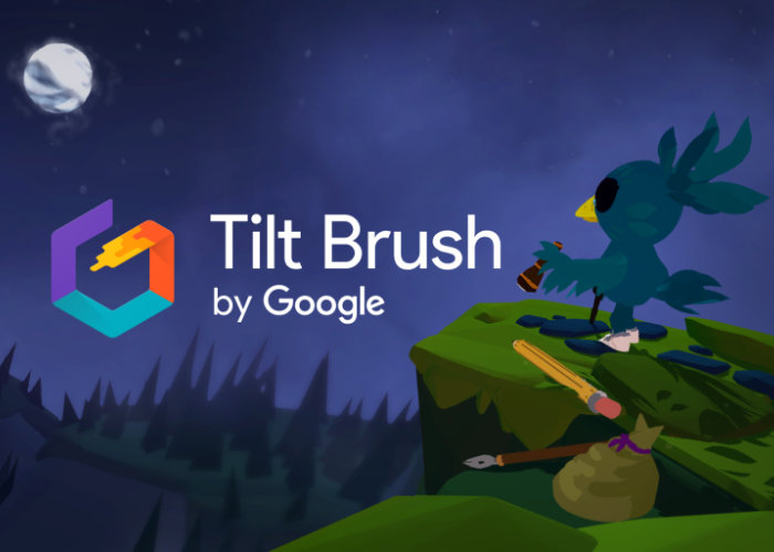 Google Tilt Brush virtual reality drawing application is now open source - Geeky Gadgets