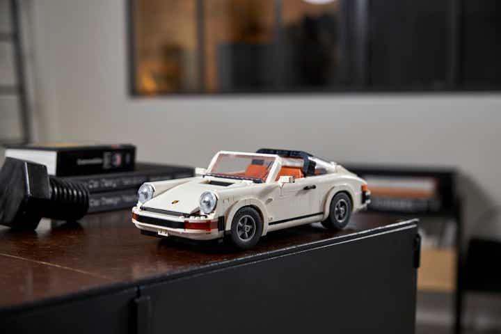 Lego Porsche 911 Turbo and Targa