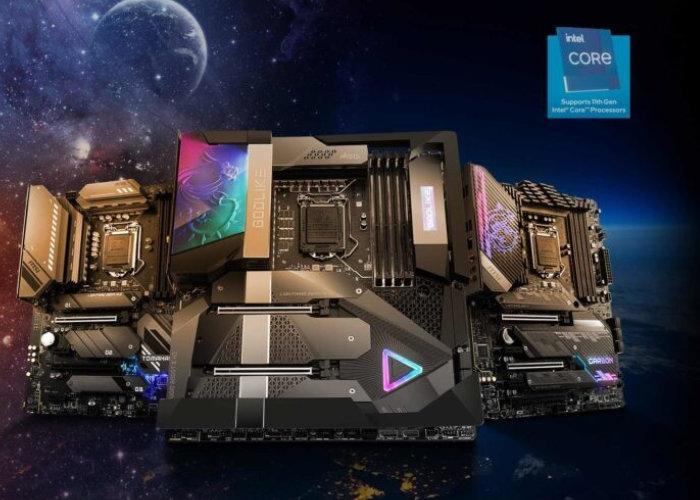 MSI Intel 500 motherboards