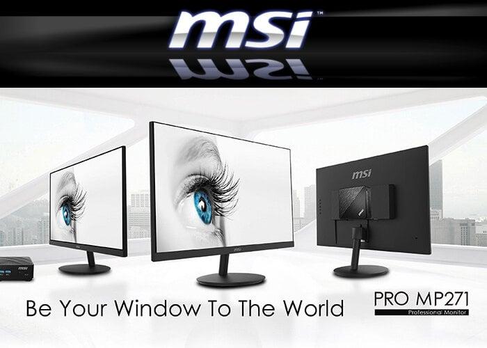 MSI pro monitor