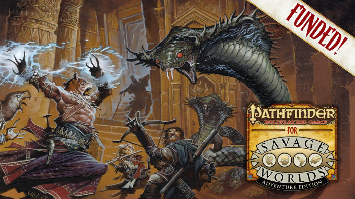 Pathfinder Savage Worlds