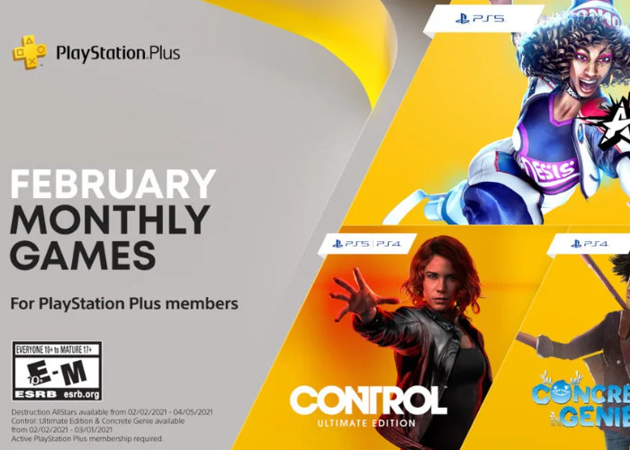 PlayStation Plus February 2021 games