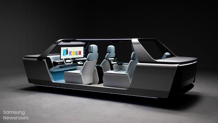 Samsung Digital Cockpit 2021