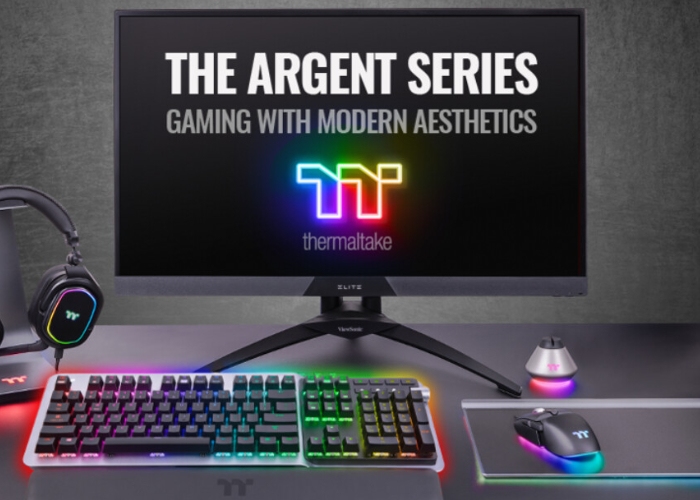Thermaltake ARGENT gaming accessories