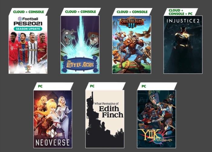 Xbox Game Pass Jan 2021