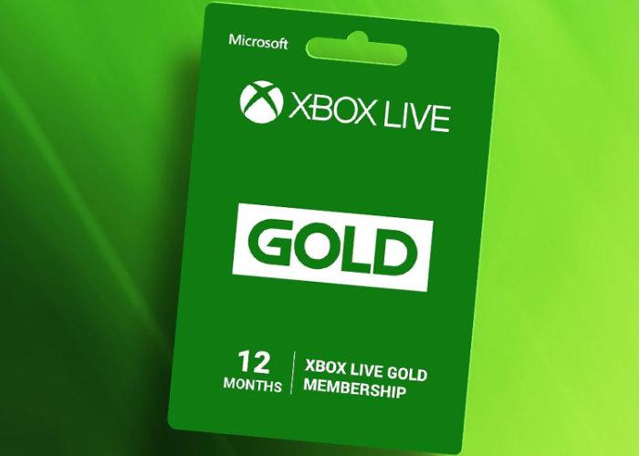 Xbox Live Gold price