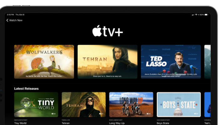 Apple is extending TV+ free trials