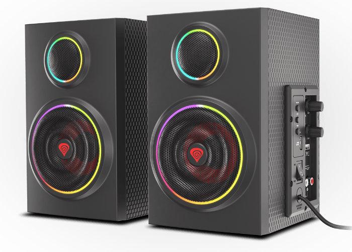 desktop stereo speakers