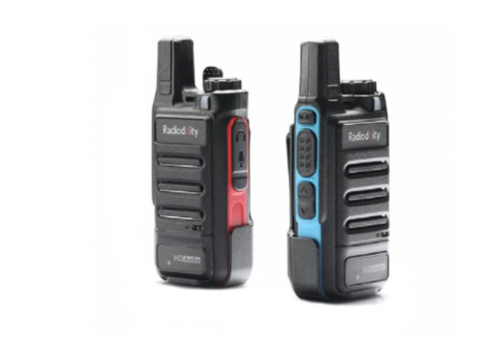 noise canceling walkie-talkie radio