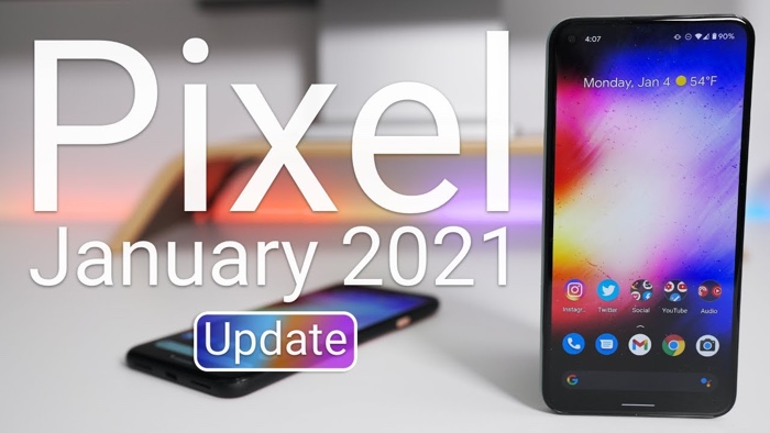 Pixel January 2021 security update