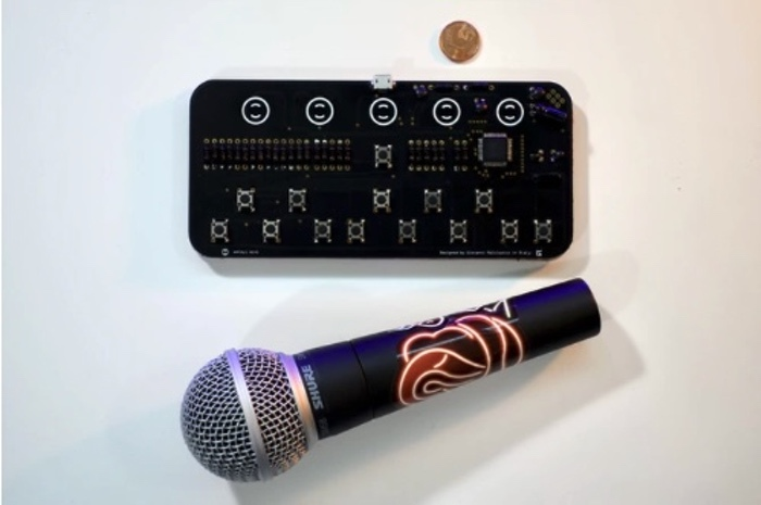 pocket MIDI instrument