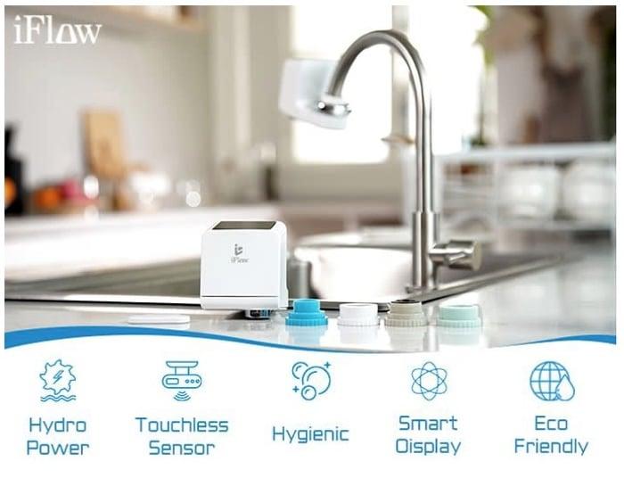 smart faucet features