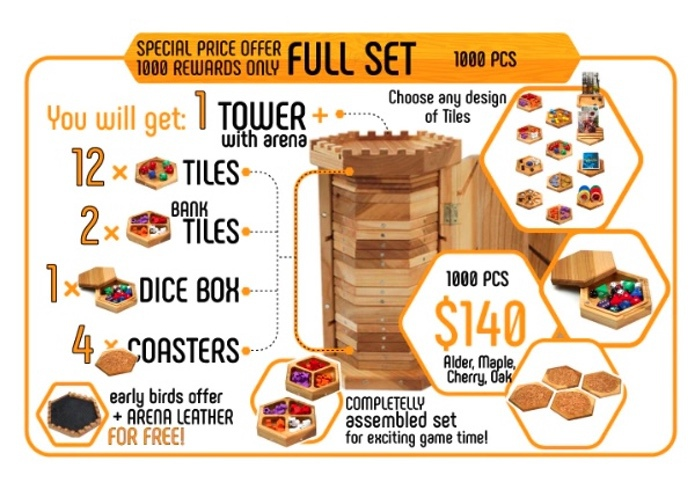 tabletop game organizer