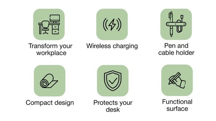 wireless charger features
