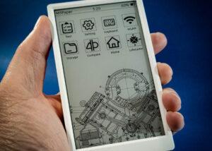 wireless e-ink touchscreen