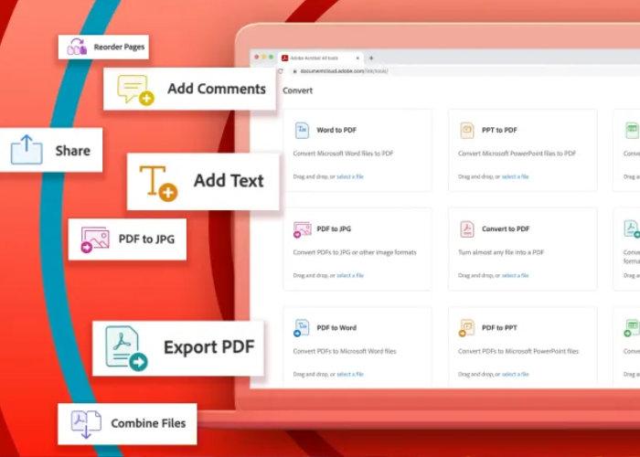 Adobe Acrobat PDF tools