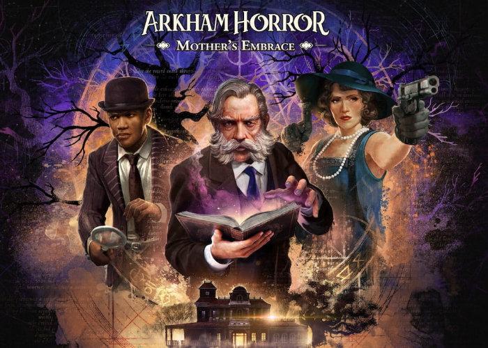 Arkham Horror Mother's Embrace gameplay