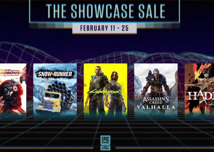 Epic Games Store Spring Showcase and Sale