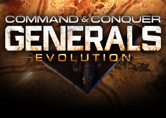 Generals Evolution mod