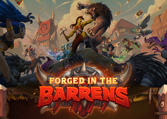 Hearthstone Forged In The Barrens expansion