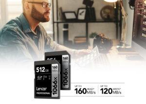 Lexar Professional 1066x SDXC