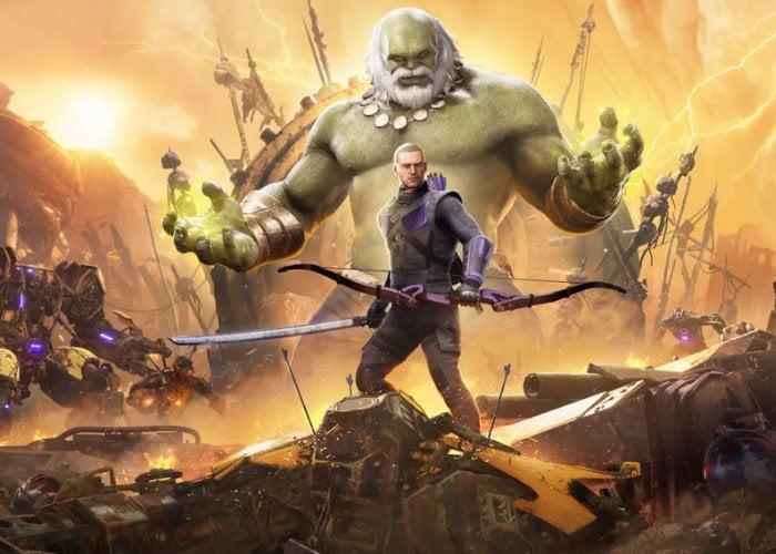 Marvel's Avengers welcomes Hawkeye