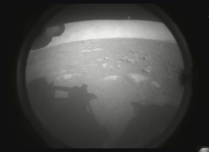 NASA Perseverance Mars rover first picture