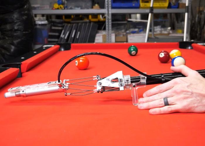 Shane Wighton robotic pool cue