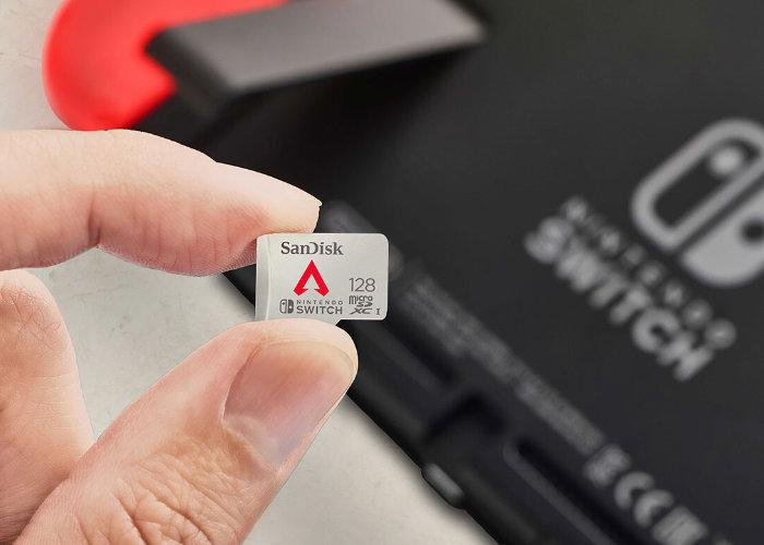 Switch SanDisk Apex Legends memory card